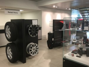 The Parts Department at Audi London maintains a comprehensive inventory of high quality genuine OEM parts. Our highly knowledgeable staff is here to answer your parts inquiries. Should we not carry a part for which you're searching, we can always order it for you and receive it within a timely manner.